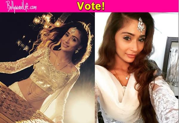 Sasural Simar Ka: Do you like Sara Khan's naagin look? Vote!