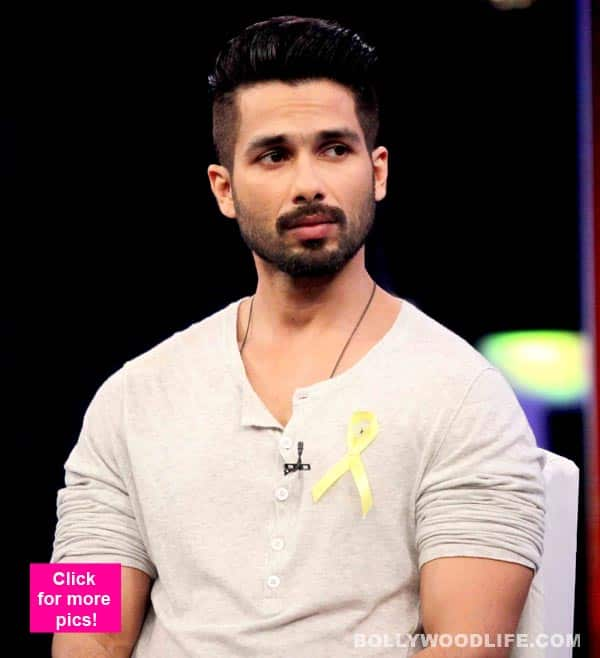 Shahid Kapoor New Hairstyle 2015 Back Side