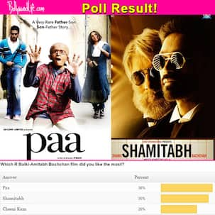 R Balki-Amitabh Bachchan's Paa is a better film than Shamitabh, say fans!