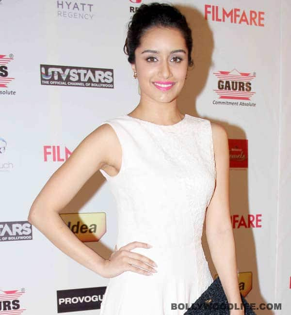 Shraddha Kapoor gets her first nomination in Singer's category at GIMA Awards 2015!