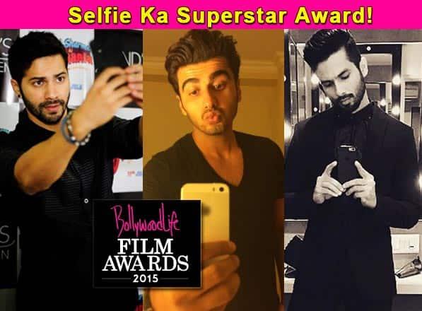 BollywoodLife Film Awards 2015: Varun Dhawan, Shahid Kapoor, Arjun Kapoor nominated in the Selfie King category!