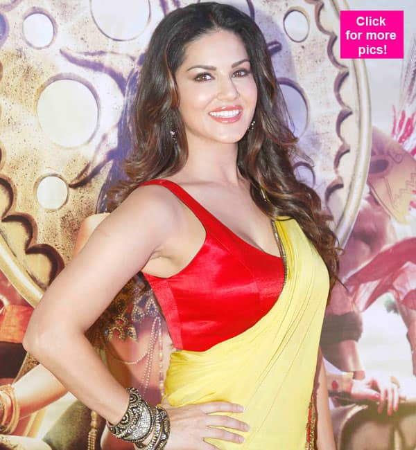 Sunny Leone unveils the trailer of Ek Paheli Leela – view pics!