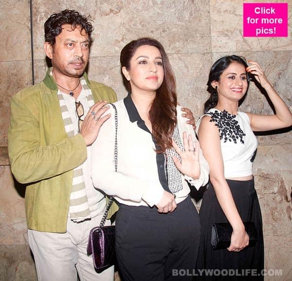 Tisca Chopra, Irrfan Khan attend a screening of Qissa - view pics!