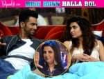 Bigg Boss 8 Halla Bol: Upen Patel-Karishma Tanna romance not scripted, says FarahKhan