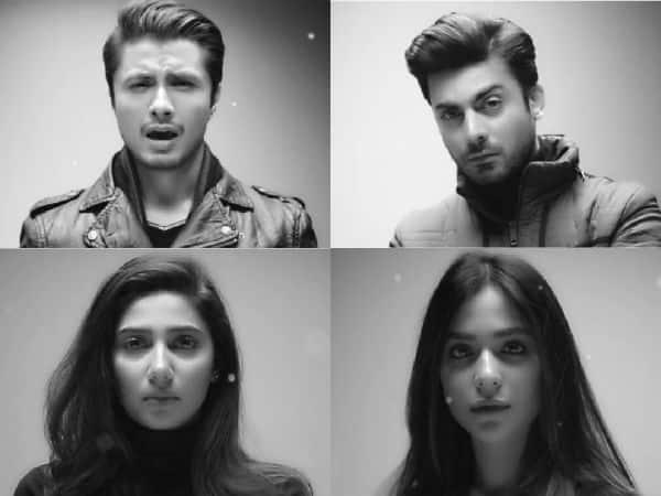 "Fawad Khan, Ali Zafar, Mahira Khan pay a heart-rending tribute ""Urainge"" to the Peshawar school attack- watch video!"