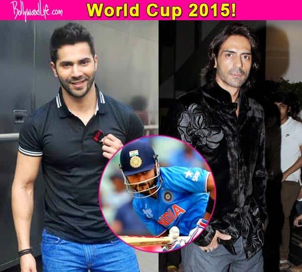 ICC World Cup 2015: Varun Dhawan, Arjun Rampal and Esha Gupta cheer for Virat Kohli on Twitter!