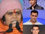 Burn the posters of Shah Rukh Khan, Salman Khan and Aamir Khans' films in the fire of Holi: BJP leader Sadhvi Prachi!