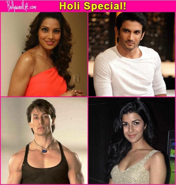 Sushant Singh Rajput, Tiger Shroff, Bipasha Basu, Nimrat Kaur reveal their Holi plans