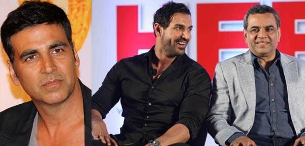 Not Akshay Kumar, Paresh Rawal the reason behind John Abraham's improved comic timing!
