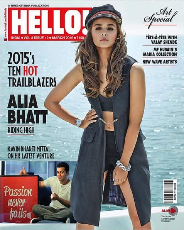 After Aishwarya Rai Bachchan and Kareena Kapoor Khan, Alia Bhatt set to sparkle on a magazine cover!