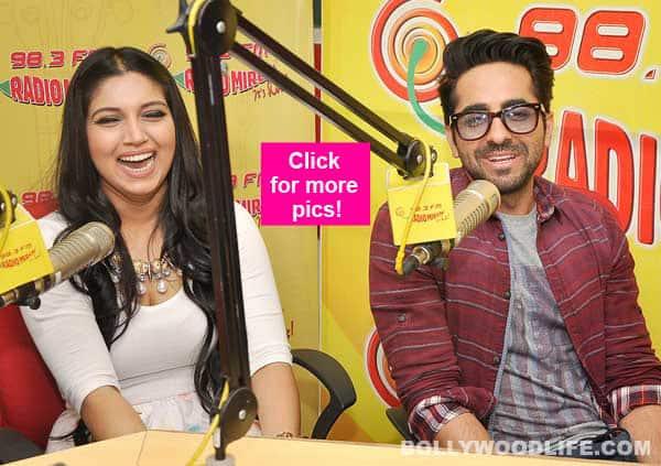 When Ayushmann Khurrana and Bhumi Pednekar turned RJ's for Dum Laga Ke Haisha- view pics!