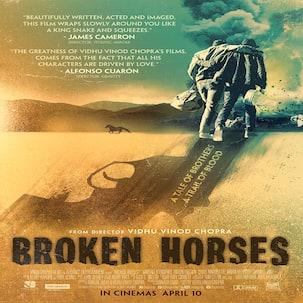 Vidhu Vinod Chopra's Hollywood venture Broken Horses to be released globally as a novel!