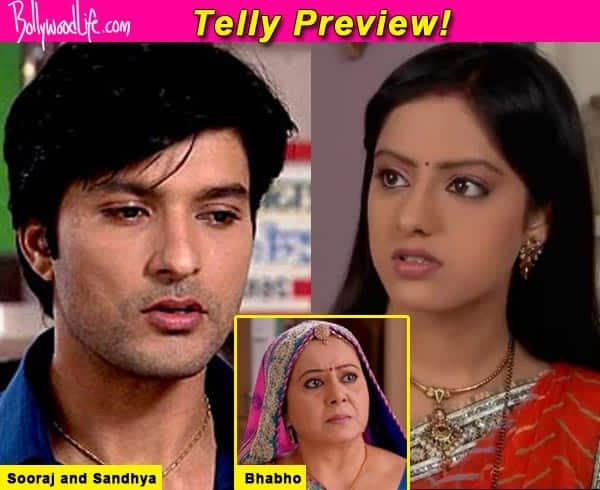 Diya Aur Baati Hum: Bhabho lashes out at Sandhya and Sooraj- watch video!