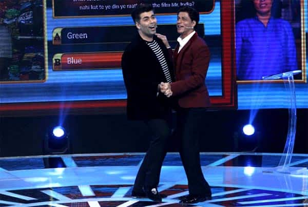 karan johar and shahrukh khan relationship goals