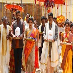 Nagarjuna shoots at a 1500 year old temple for Soggade Chinni Nayana- view pic!