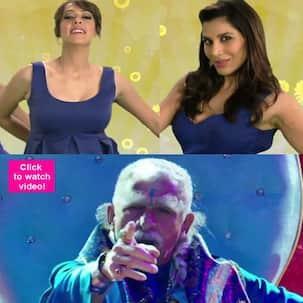 Dharam Sankat Mein song Neelanand: Sophie Choudry-Hazel Keech's item song copied from Shah Rukh Khan's Love mera hit hit!