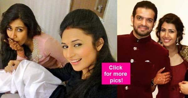 What is Karan Patel's fiancee Ankita Bhargava doing with his Yeh Hai Mohabbatein co-star Divyanka Tripathi ? View pic!