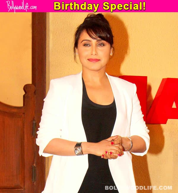 Rani Mukerji birthday special: Most memorable songs numbers of the eternal beauty – Watch videos!
