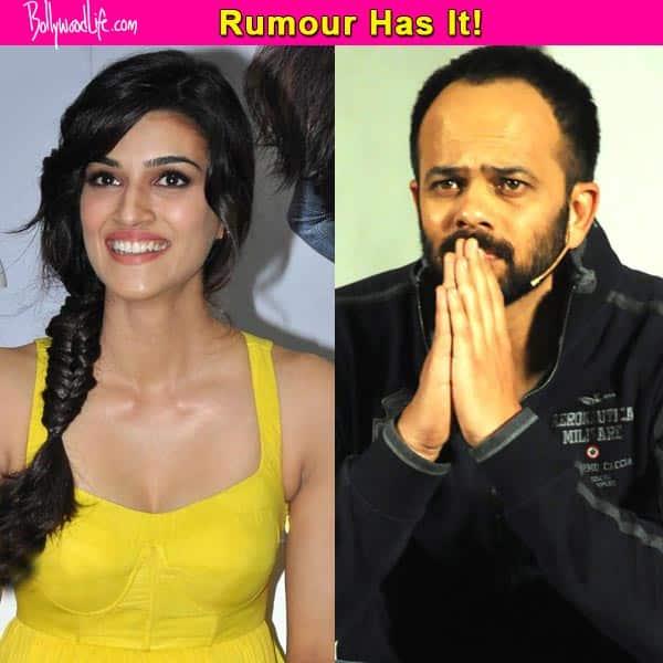 OMG! Rohit Shetty miffed with Kriti Sanon
