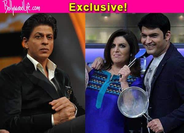 Kapil Sharma replaces Shah Rukh Khan as the special guest on Farah Khan's Farah Ki Daawat finale!