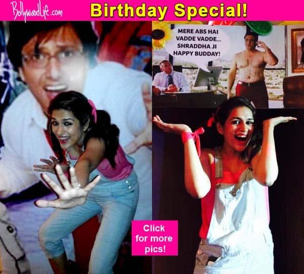 Shraddha Das celebrates her birthday in a Govinda themed party – view pics!