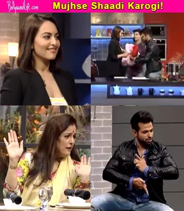 When Rithvik Dhanjani proposed marriage to Sonakshi Sinha - watch video!