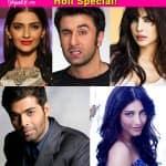 Ranbir Kapoor, Priyanka Chopra, Sonam Kapoor - 5 celebs who won't play Holi this year!