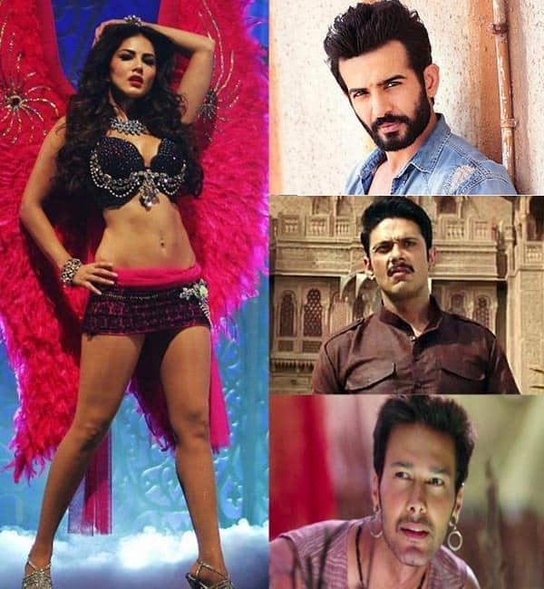 Sunny Leone steals the thunder from Ek Paheli Leela co-stars Jay Bhanushali, Mohit Ahlawat, Rajniesh Duggal