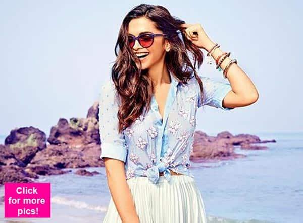 c79554268bc5 Deepika Padukone poses for an eyewear brand- watch video ...