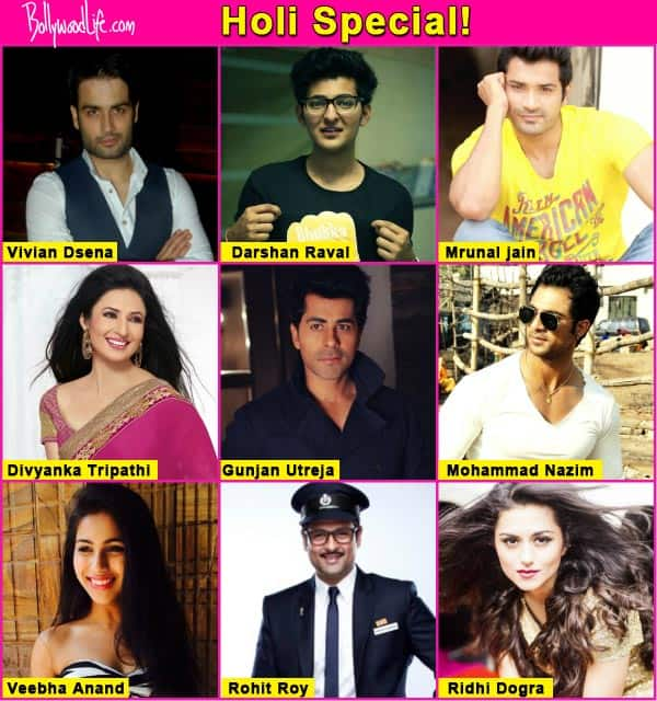 Holi Special: Divyanka Tripathi, Ridhi Dogra, Vivian DSena, Veebha Anand share their Holi plans, memories and favourite songs