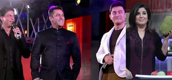 Farah Khan: Even God can't bring Shah Rukh Khan, Aamir Khan and Salman Khan together!