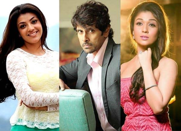 Vikram wants Kajal Aggarwal as well as Nayanthara!