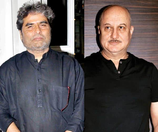 Here's why Anupam Kher slammed Haider director Vishal Bhardwaj on Twitter!