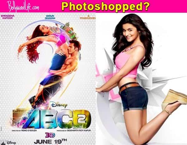 Photoshop disaster – Shraddha Kapoor looks like Alia Bhatt on ABCD 2 poster!