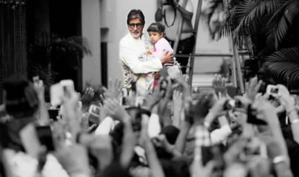 What do Amitabh Bachchan and Aaradhya talk about?