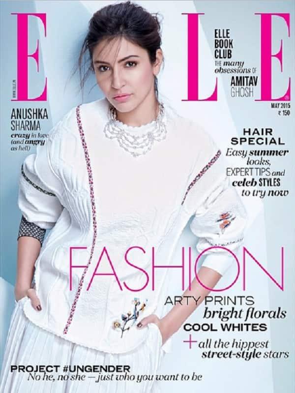 Anushka Sharma looks pretty tame on her new magazine cover!