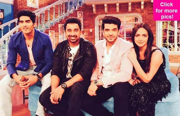 Roadies' Rannvijay Singh, Esha Deol, Vijendra Singh, Karan Kundra on Comedy Nights with Kapil – view pics!