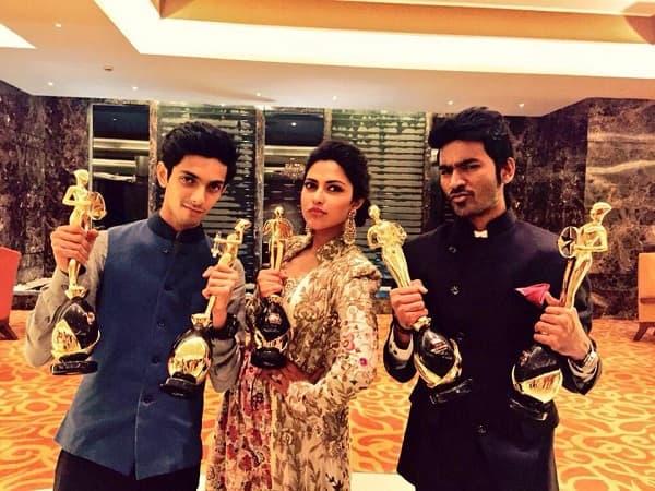 Dhanush and his film VIP bag 5 Vijay Awards!