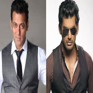 Vishal steps into Salman Khan's shoes!