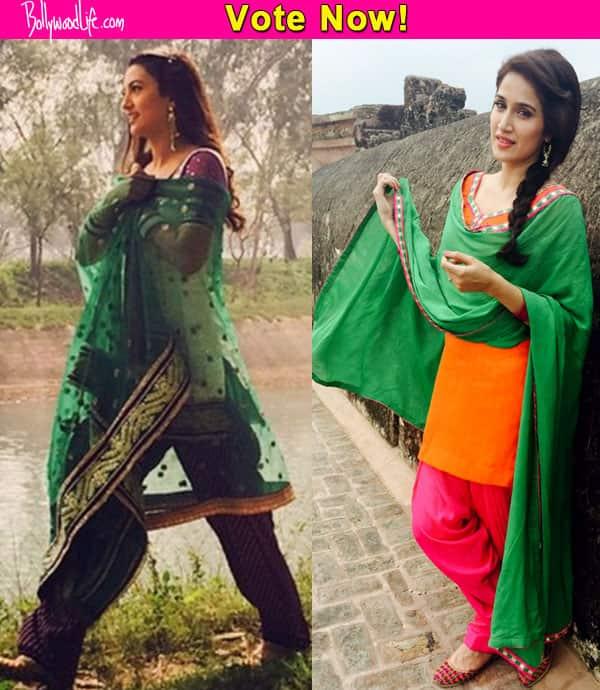 Gauahar Khan or Sagarika Ghatge: Who looks more beautiful as Punjabi kudi? vote now