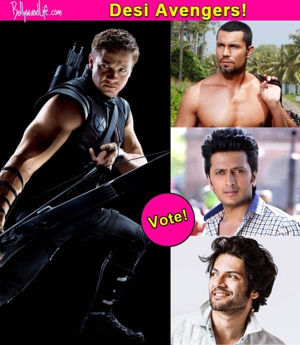 Randeep Hooda, Riteish Deshmukh or Ali Fazal – who should play Hawkeye in desi version of Avengers? Vote!