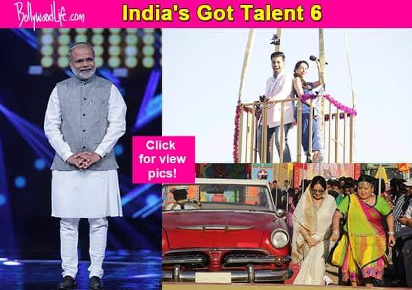 India's Got Talent 6: Narendra Modi on the sets of IGT- view pics!