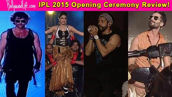Even Shahid Kapoor, Anushka Sharma and Hrithik Roshan couldn't save IPL 2015 opening ceremony from becoming a FLOP SHOW!