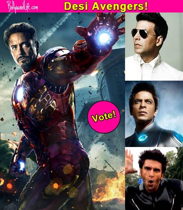 Shah Rukh Khan, Akshay Kumar or Ranveer Singh – who should play Iron Man in the desi version of Avengers? Vote!