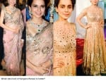 Kangana Ranaut looks hotter in a saree, say fans!