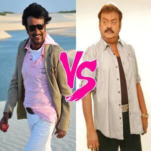Rajinikanth or Vijayakanth - Who is the bigger superhero?