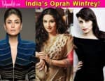 Vidya Balan beats Rani Mukerji and Kareena Kapoor Khan to become India's Oprah Winfrey?