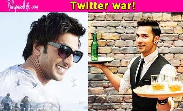 It's Varun Dhawan versus Ranveer Singh on Twitter!