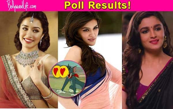 Shraddha Kapoor, Alia Bhatt or Kriti Sanon – Who sizzles the most in a saree? View poll results