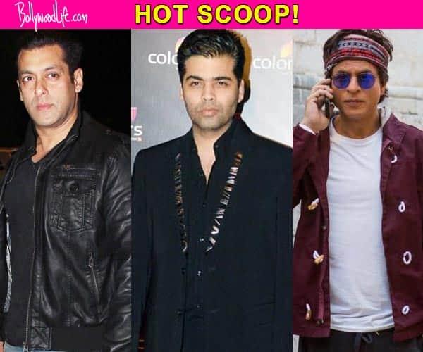 Angry Salman Khan walks out of Karan Johar's Shhuddhi, Shah Rukh Khan to now star in the film!